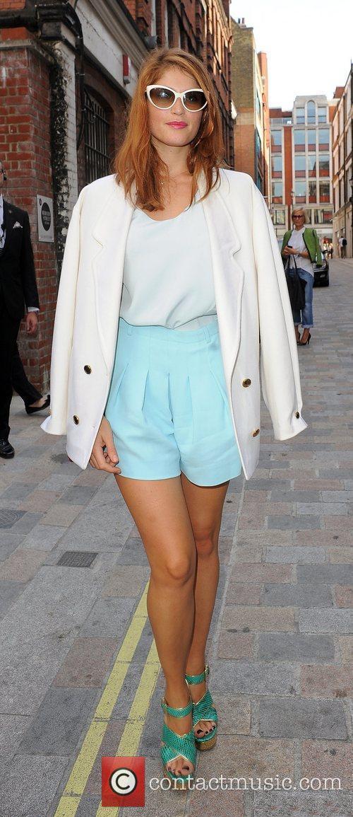 Gemma Arterton and London Fashion Week 5