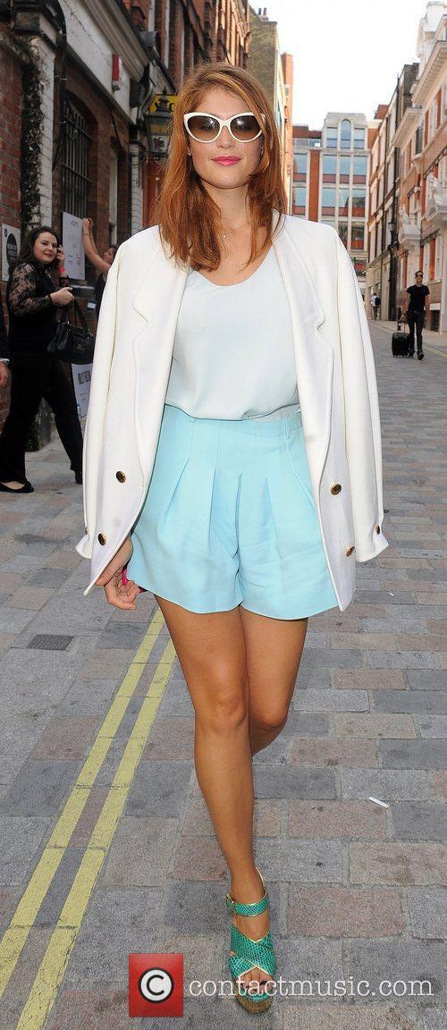 Gemma Arterton and London Fashion Week 6