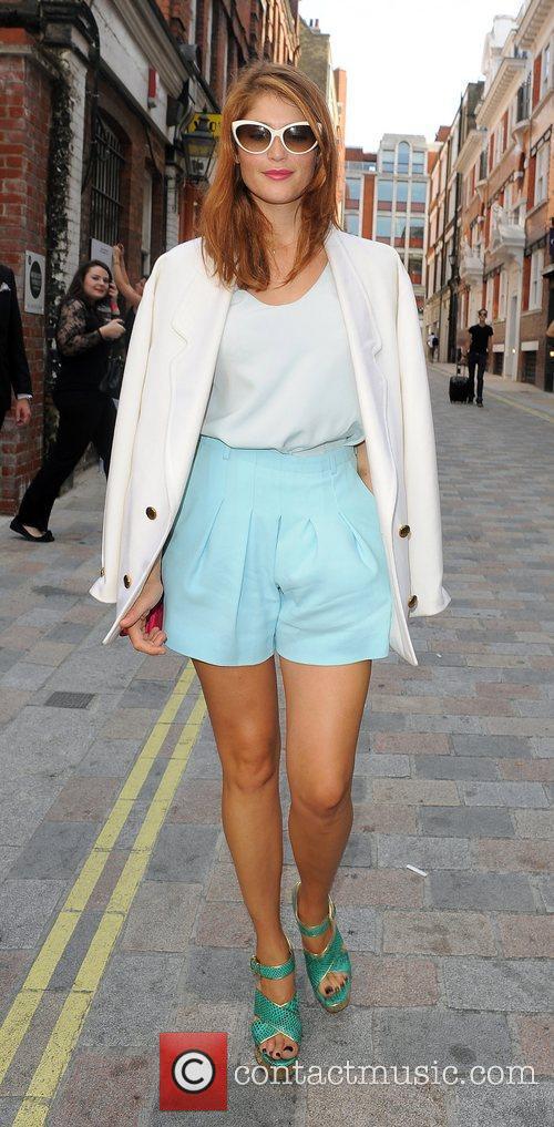 Gemma Arterton and London Fashion Week 7