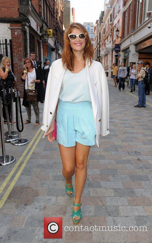 Gemma Arterton and London Fashion Week 8