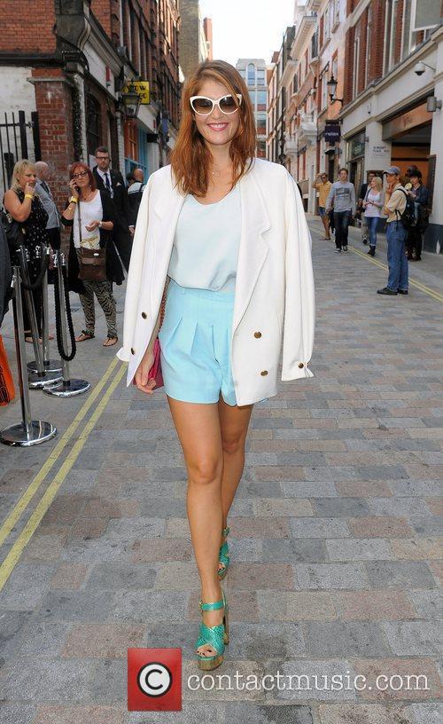 Gemma Arterton and London Fashion Week 9