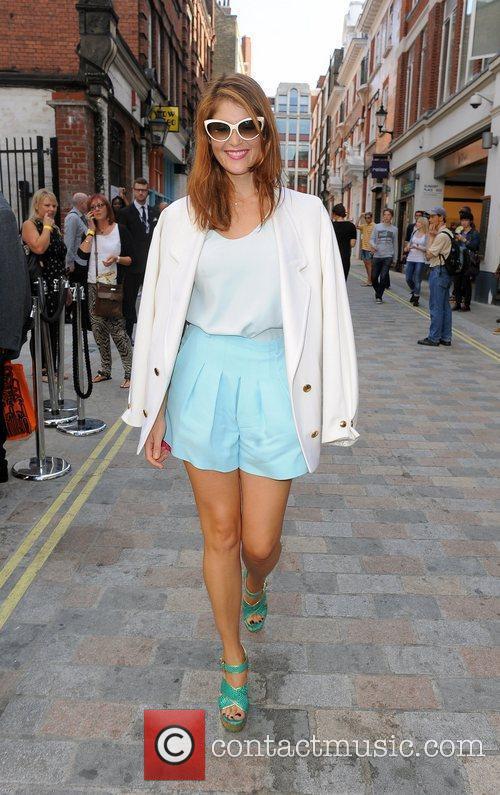 Gemma Arterton, London Fashion Week
