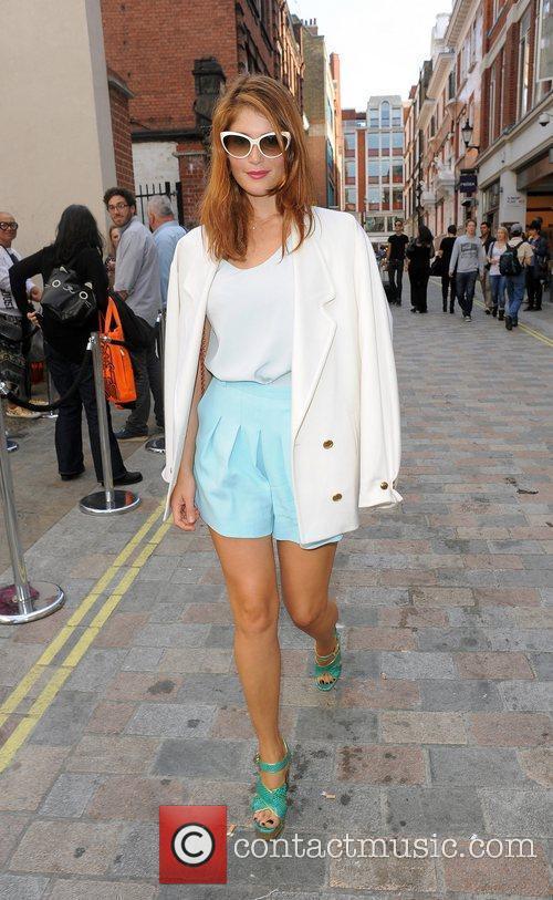 Gemma Arterton and London Fashion Week 11