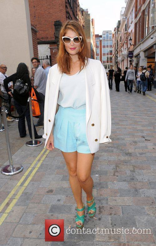 Gemma Arterton and London Fashion Week 12