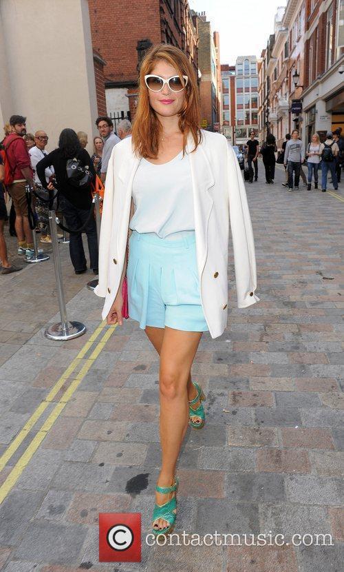Gemma Arterton and London Fashion Week 15