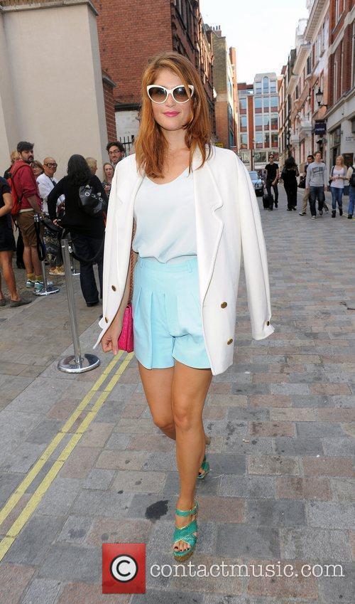 Gemma Arterton and London Fashion Week 16