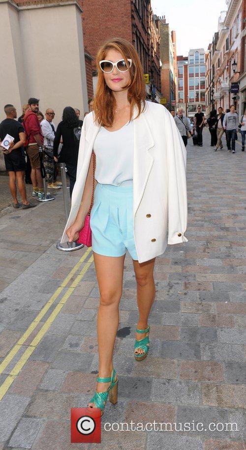 Gemma Arterton and London Fashion Week 17