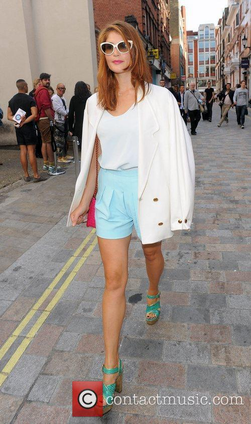 Gemma Arterton and London Fashion Week 18