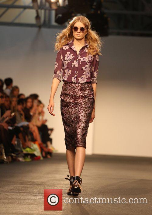 Model London Fashion Week Spring/Summer 2013 - House...