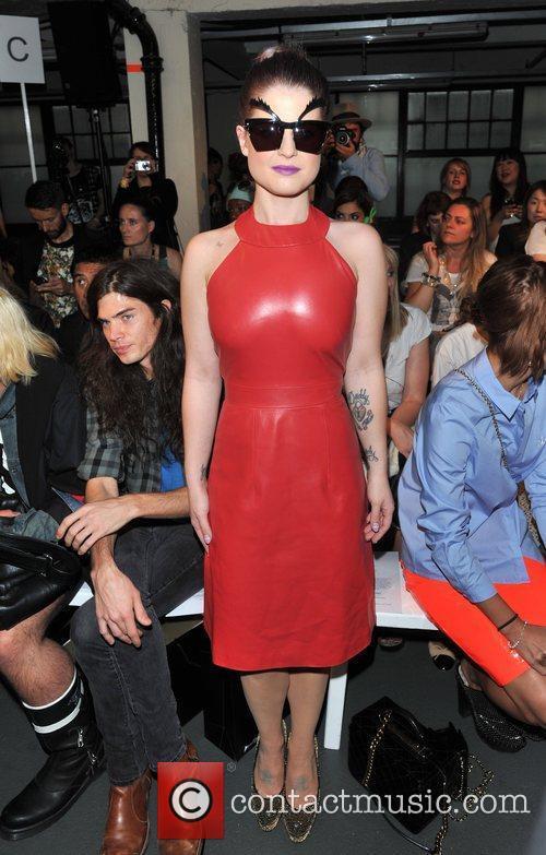 Kelly Osbourne London Fashion Week Spring/Summer 2013 -...