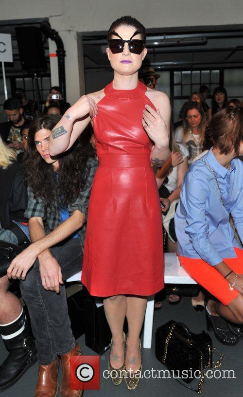 Kelly Osbourne and London Fashion Week 5
