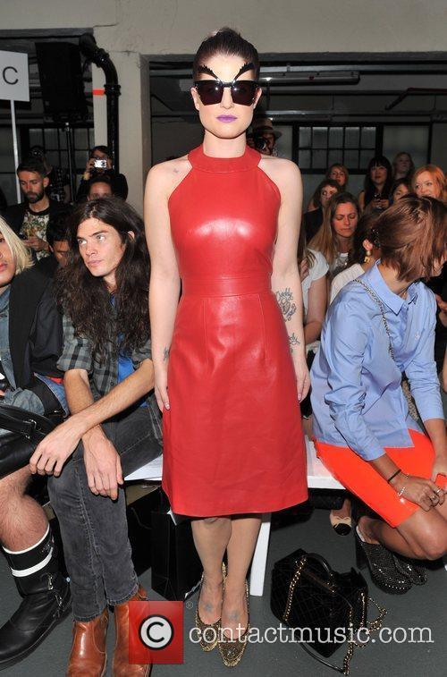 Kelly Osbourne and London Fashion Week 6
