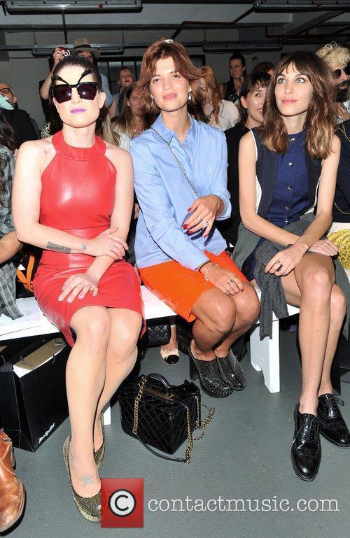 Kelly Osbourne, Pixie Geldof and Alexa Chung London...