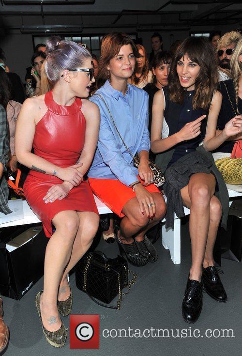 Kelly Osbourne, Alexa Chung, Pixie Geldof and London Fashion Week 4