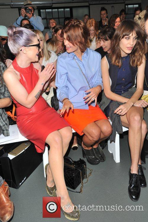 Kelly Osbourne, Alexa Chung, Pixie Geldof and London Fashion Week 5
