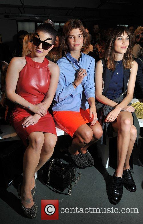 Kelly Osbourne, Alexa Chung, Pixie Geldof and London Fashion Week 6