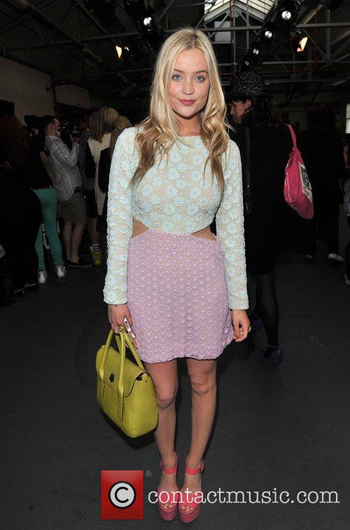 Laura Whitmore and London Fashion Week 2