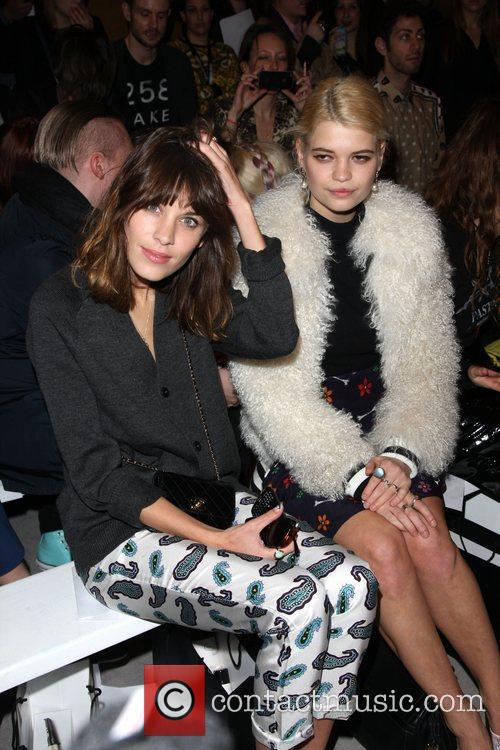 Alexa Chung, Pixie Geldof and London Fashion Week 3