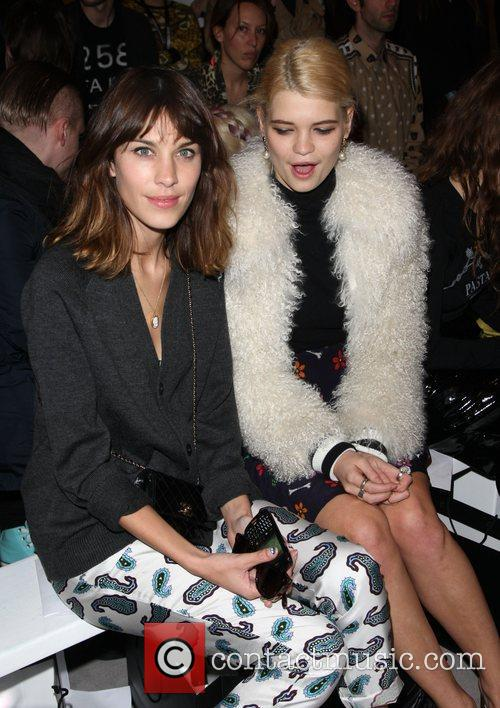 Alexa Chung, Pixie Geldof and London Fashion Week 4
