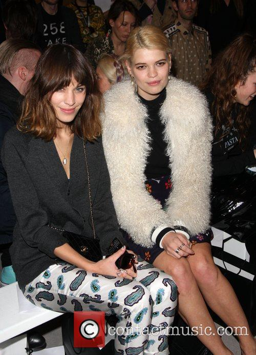 Alexa Chung, Pixie Geldof and London Fashion Week 5