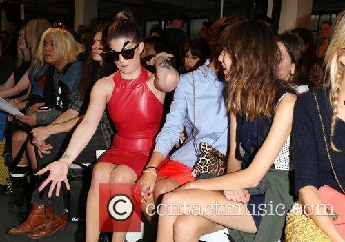Kelly Osbourne, and Alexa Chung London Fashion Week...