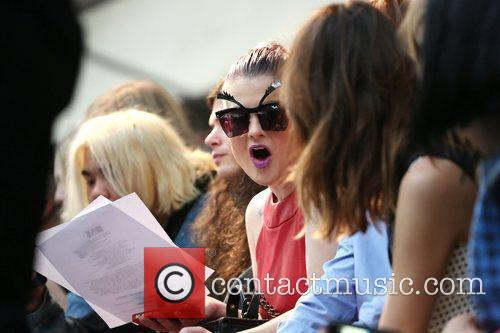 Kelly Osbourne and London Fashion Week 11