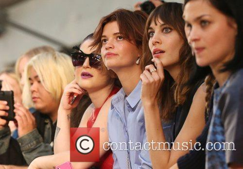 Kelly Osbourne, Pixie Geldof, Alexa Chung London Fashion...