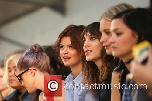 Pixie Geldof, Alexa Chung London Fashion Week Spring/Summer...