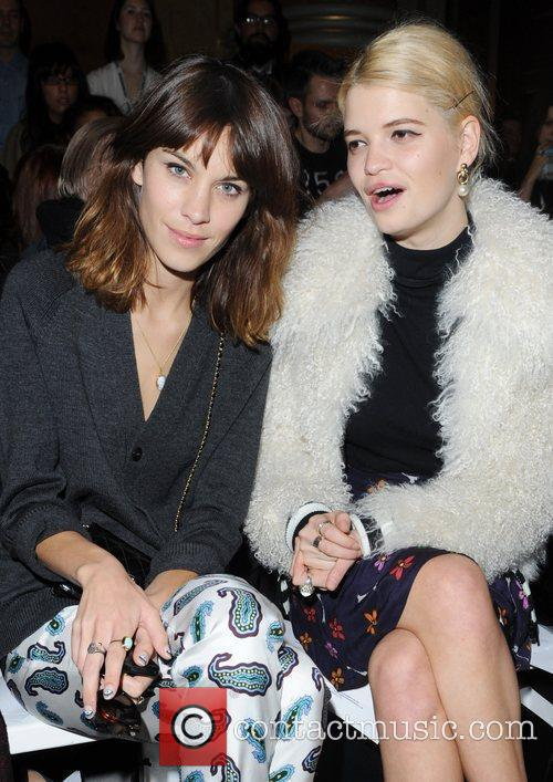 Alexa Chung, Pixie Geldof and London Fashion Week 1