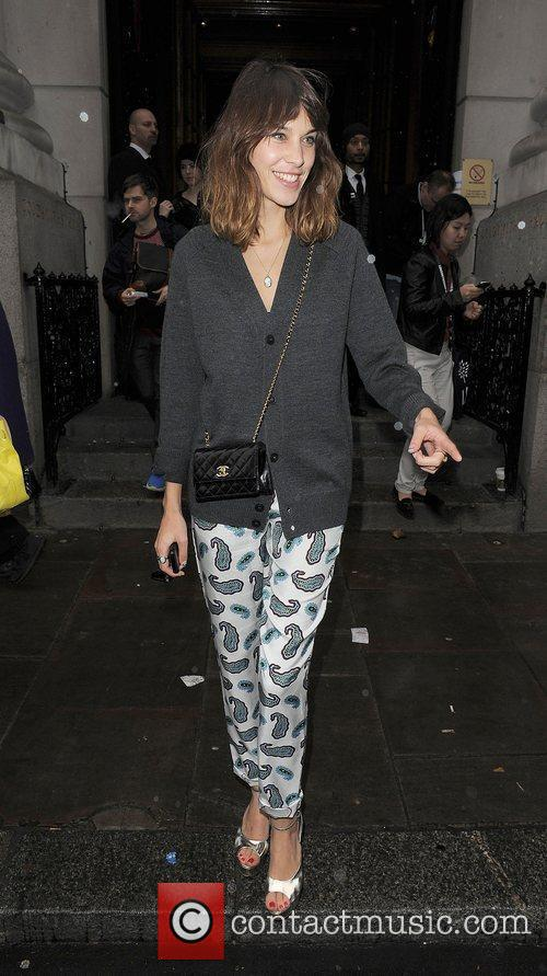 Alexa Chung and London Fashion Week 10