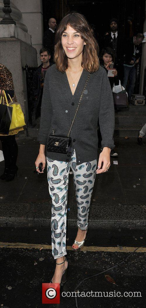 Alexa Chung and London Fashion Week 11