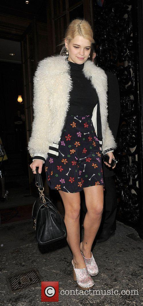 Pixie Geldof and London Fashion Week 3