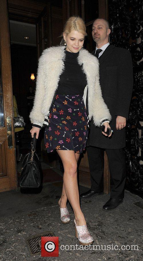 Pixie Geldof and London Fashion Week 6