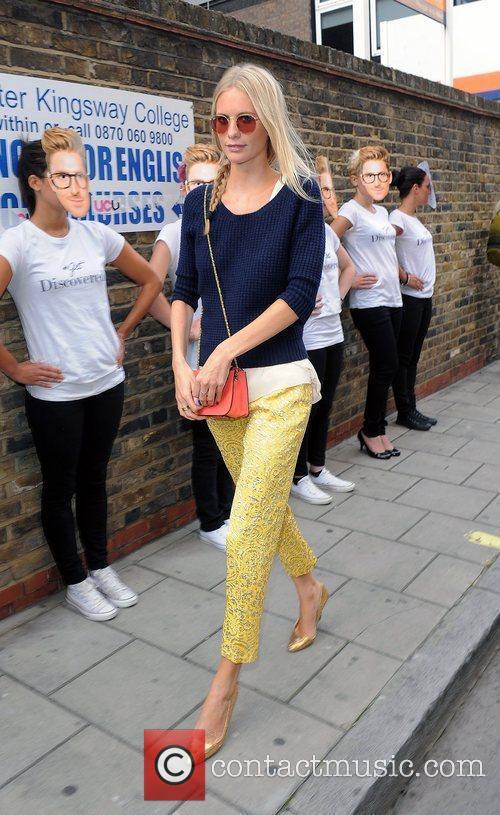 Poppy Delevigne London Fashion Week Spring/Summer 2013 -...