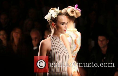 Cara Delevingne London Fashion Week Spring/Summer 2013 -...