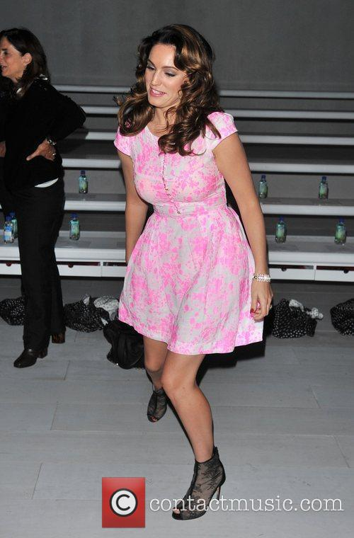 Kelly Brook and London Fashion Week 9