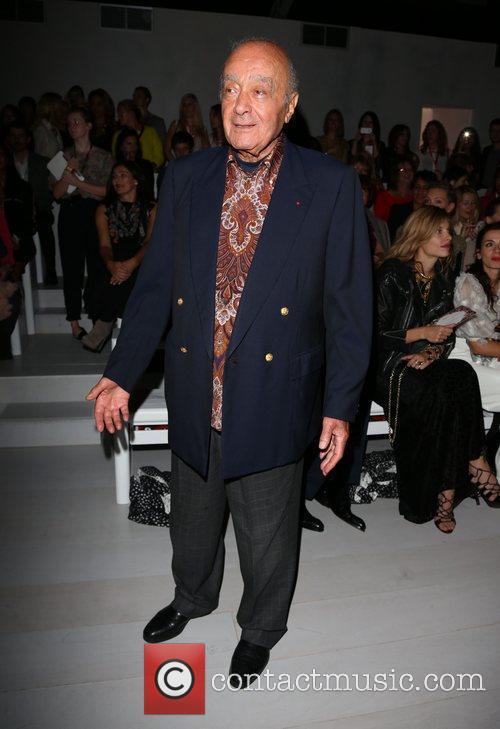 Mohamed Al Fayed London Fashion Week Spring/Summer 2013...
