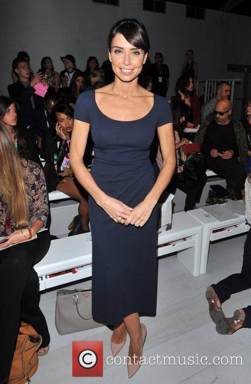 Christine Bleakley London Fashion Week Spring/Summer 2013 -...