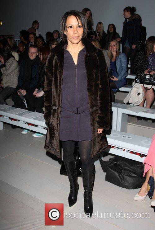 Kelly Holmes and London Fashion Week 2