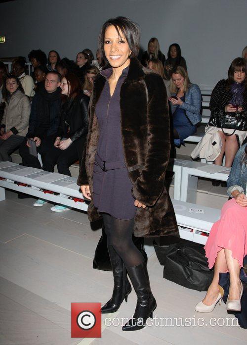 Kelly Holmes and London Fashion Week 3