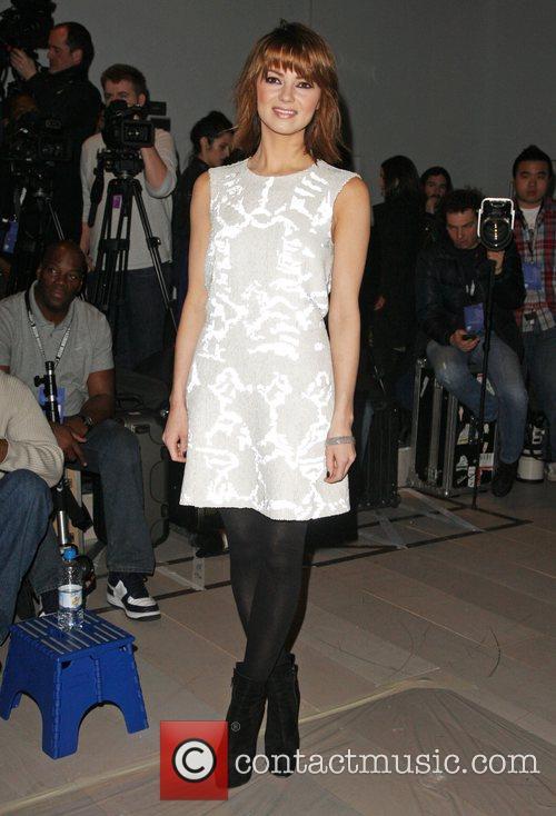 Kara Tointon and London Fashion Week 4