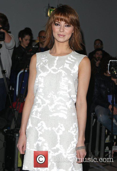 Kara Tointon and London Fashion Week 7