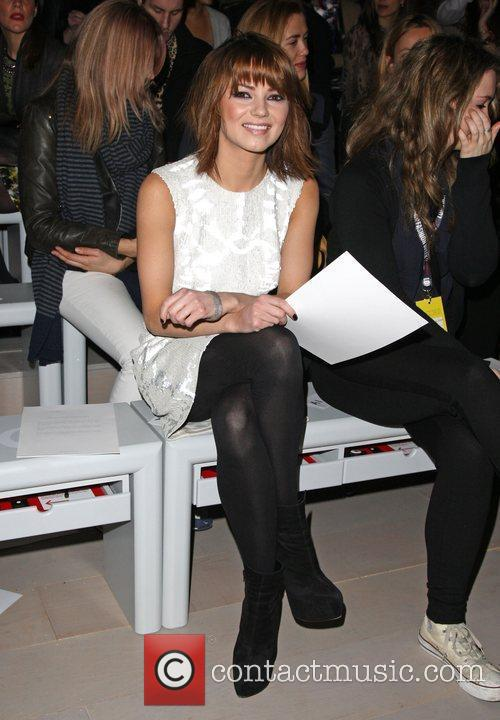 Kara Tointon and London Fashion Week 9
