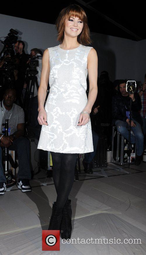 Kara Tointon and London Fashion Week 10