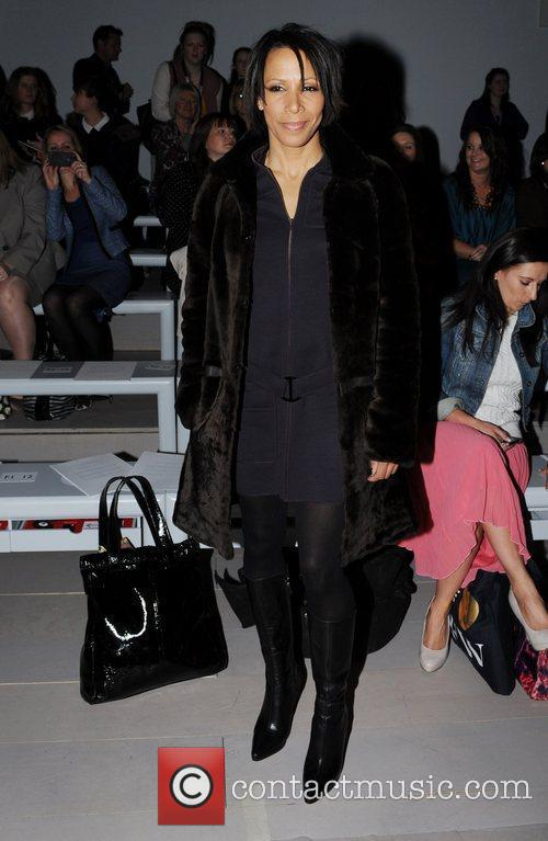 Kelly Holmes  London Fashion Week Autumn/Winter 2012...