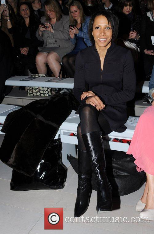 Kelly Holmes and London Fashion Week 5