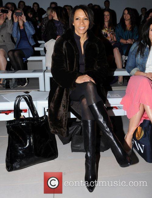 Kelly Holmes and London Fashion Week 6