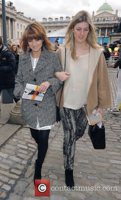 Kara Tointon and London Fashion Week 2