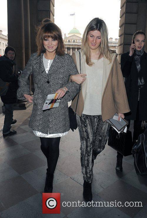 Kara Tointon and London Fashion Week 3