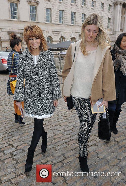 Kara Tointon and London Fashion Week 11